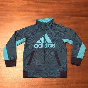 Adidas Zip Up Jacket. Boys Size 4T.